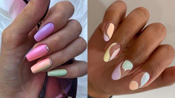 Pastel nails: Ιδέες για παστέλ αποχρώσεις_