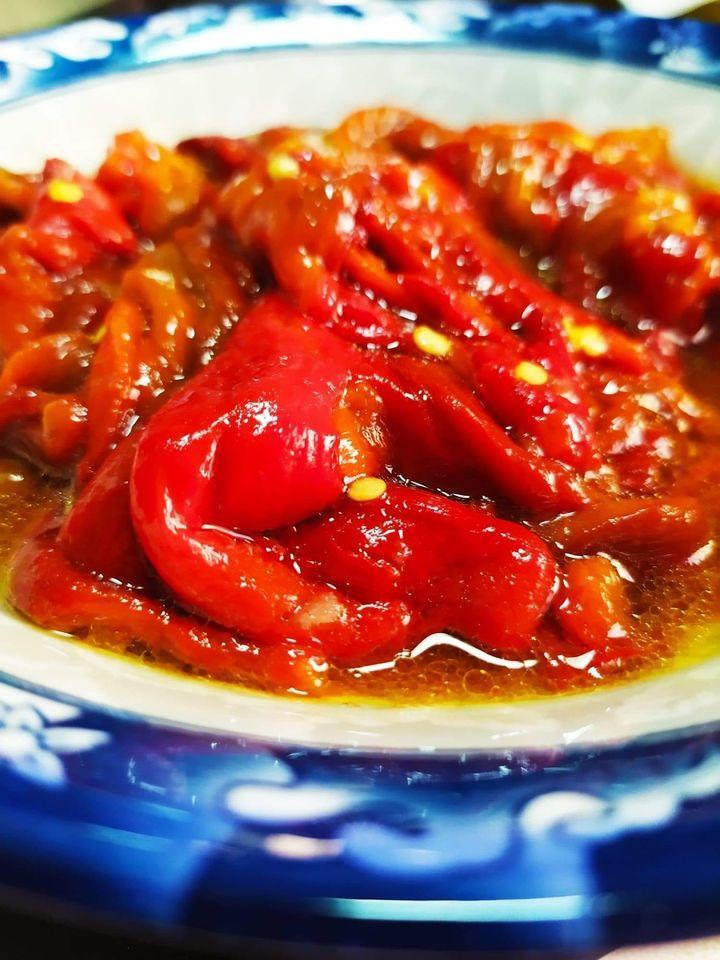 Πιπεριές Φλωρίνης_ψητές_σαλάτα_