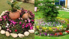 13 ιδέες για να φτιάξεις πανέμορφα παρτέρια στον κήπο_