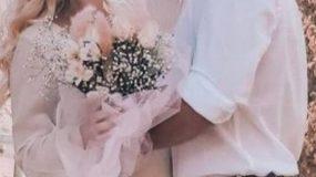 Παντρεύτηκε Ελληνίδα ηθοποιός με υπέροχο boho style νυφικό! (εικόνες)