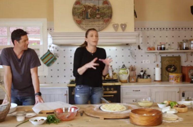Η Κάτια Ζυγούλη φτιάχνει πίτσα με τον κουνιάδο της, Αποστόλη Ρουβά και μας δίνουν τα μυστικά τους!
