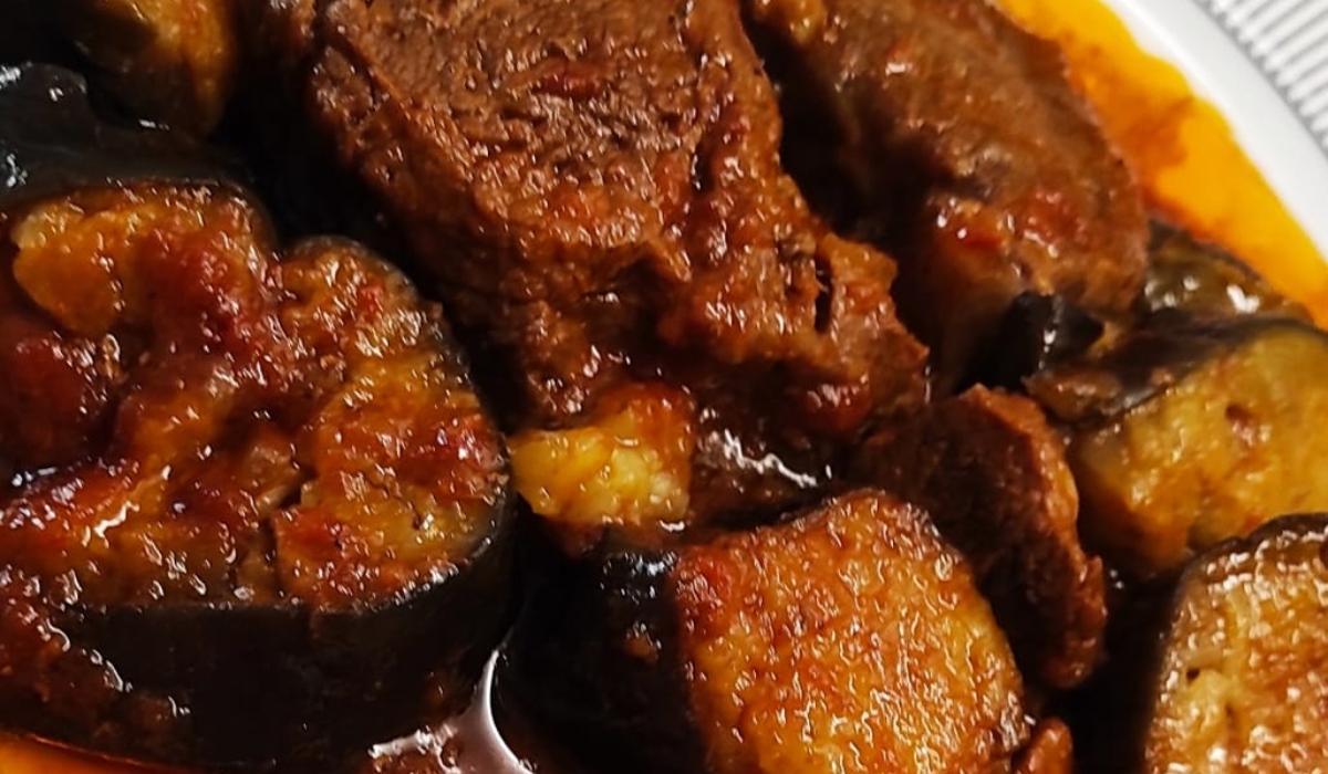 Μοσχάρι με μελιτζάνες στην κατσαρόλα_