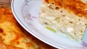 Πένες φούρνου με μανιτάρια _