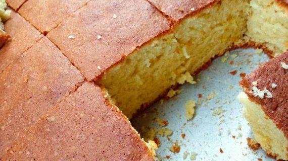 Κέικ αφράτο στο ταψί _