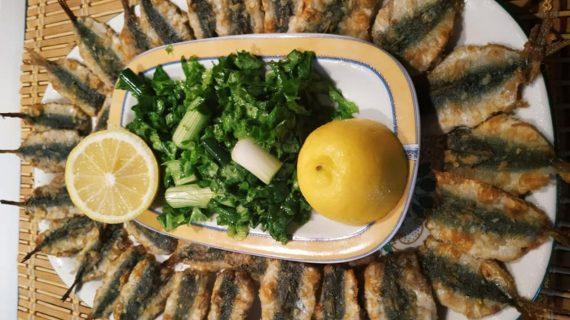 Σαρδέλες_στο φούρνο_σαν τηγανιτές_