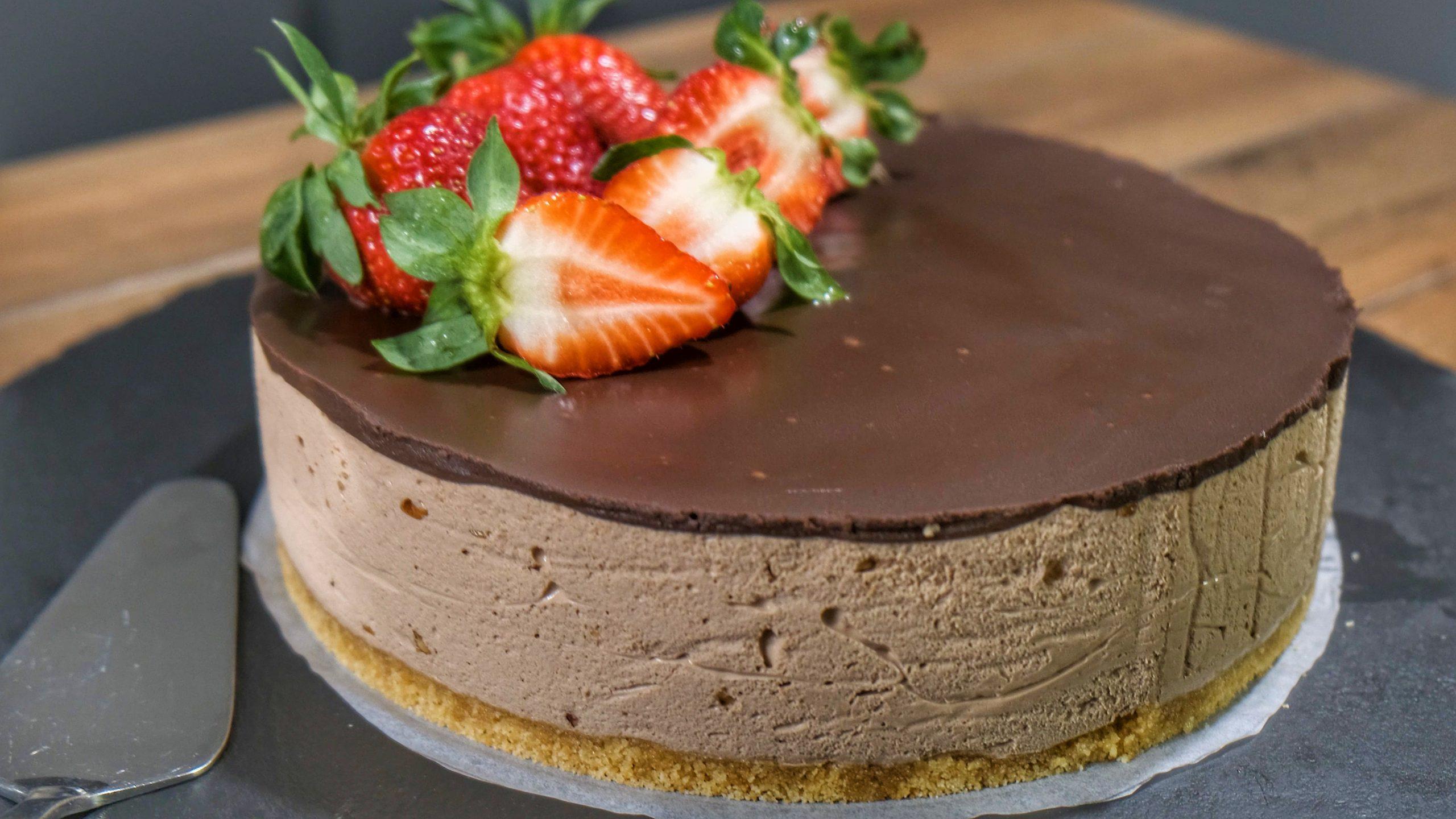 Τούρτα σοκολατίνα_χωρίς ζάχαρη_