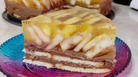 μπισκοτόγλυκο_με μπανάνα_σοκολάτα_