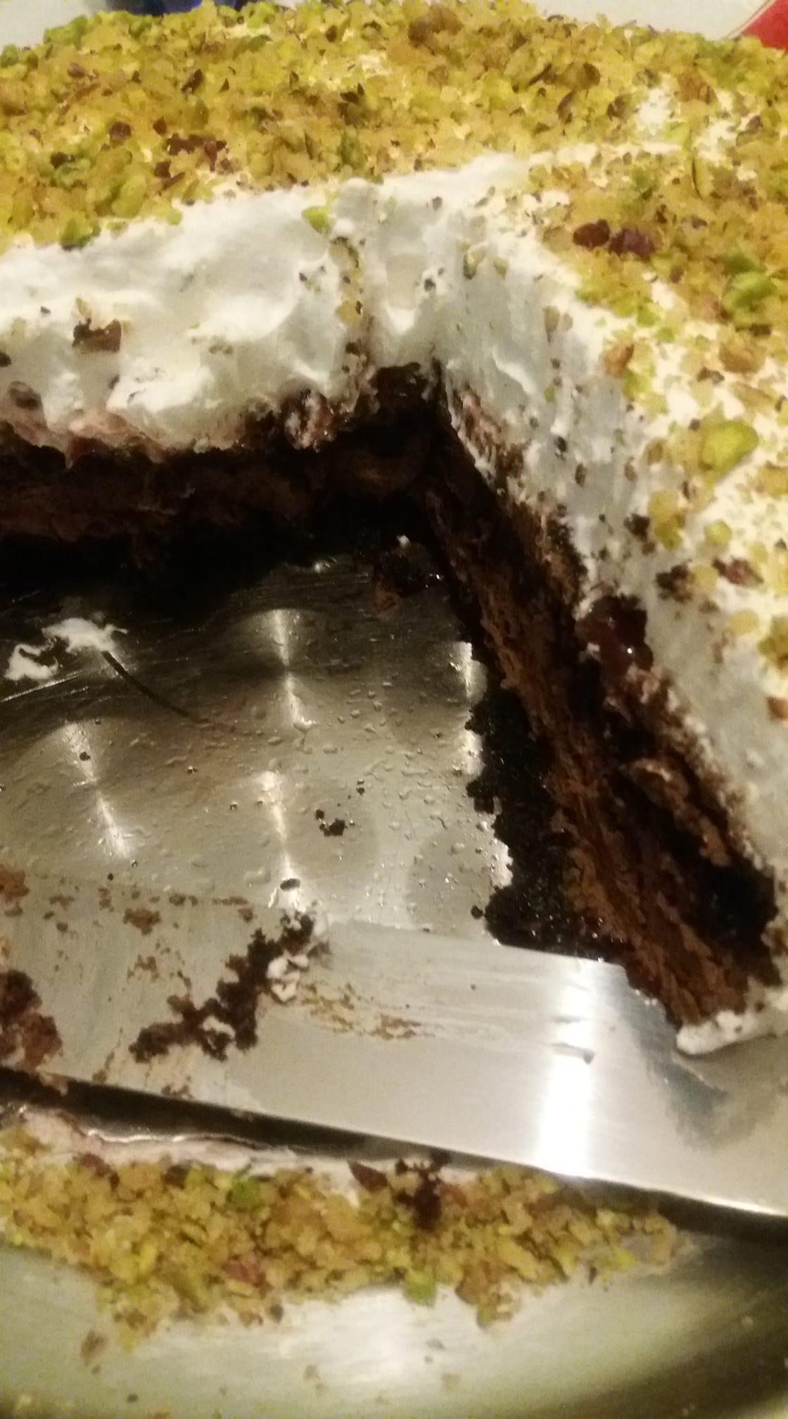 Εκμέκ_με βάση_κέικ_σοκολάτας_