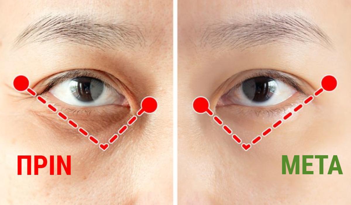 Ρυτίδες γύρω από τα μάτια: Η Ιαπωνική άσκηση του ενός λεπτού που τις αφαιρεί_