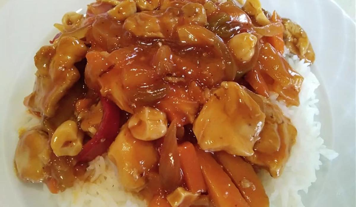 Κινέζικο κοτόπουλο με γλυκόξινη σάλτσα_