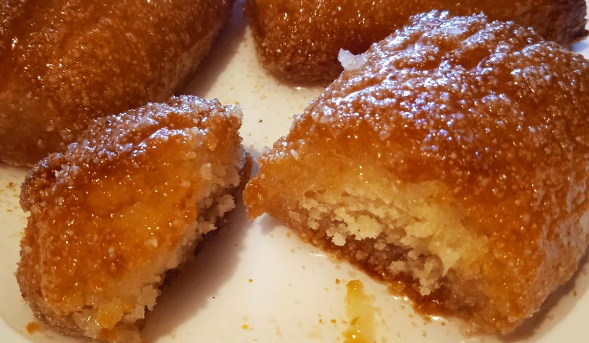 Σιροπιασμένα_μπισκότα_με ινδοκάρυδο_