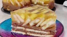 Δροσερό μπισκότογλυκο με μπανάνα και σοκολάτα