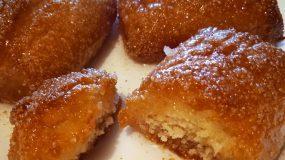 Σιροπιασμένα μπισκότα με ινδοκάρυδο