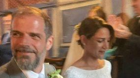 Γάμος Αντώνη Λαιμού– Μαρίκας Αράπογλου: Το εντυπωσιακό και ρομαντικό νυφικό! (εικόνες)