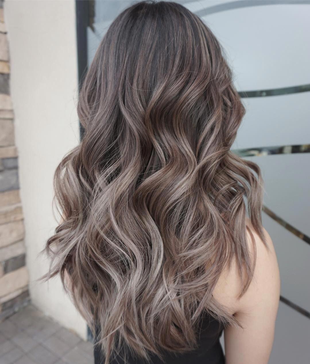 καστανά_smoky hair_