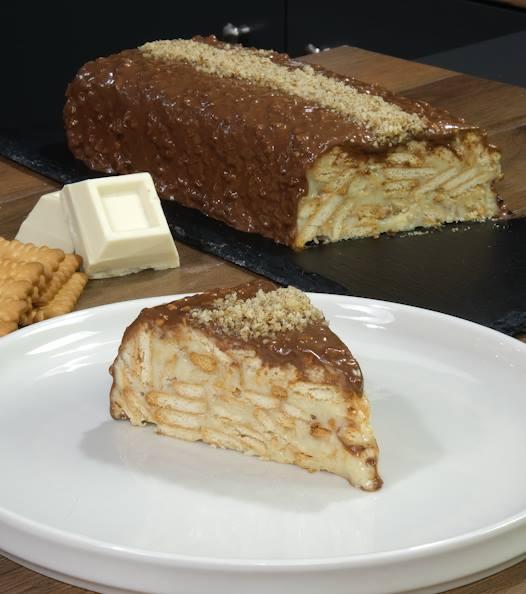 Λευκός_ κορμός_ σοκολάτας_ από _το_ Live- Kitchen_ (βίντεο)