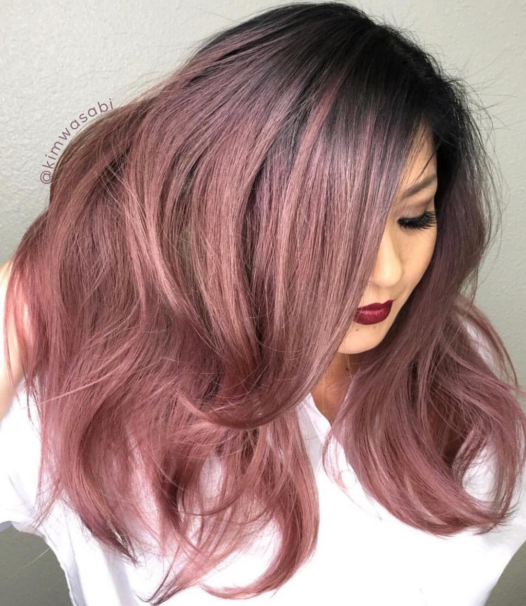 ροζ_smoky_hair_