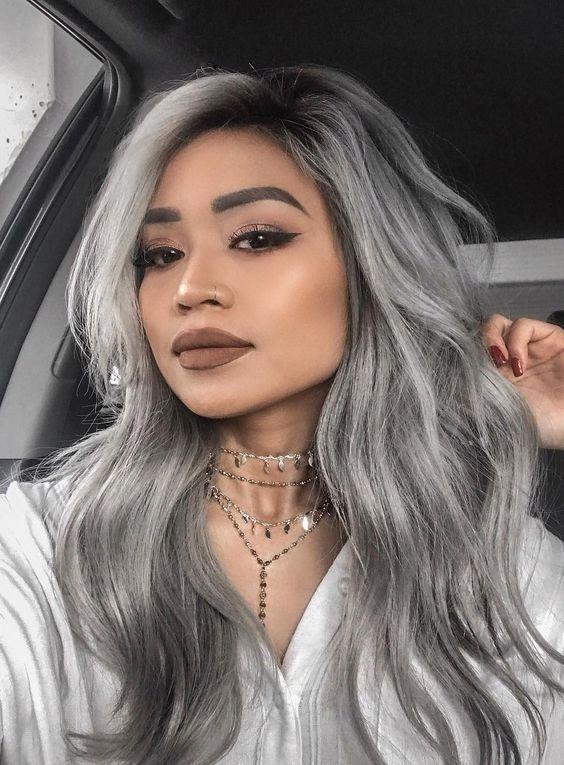 silver hair_ιδέες_