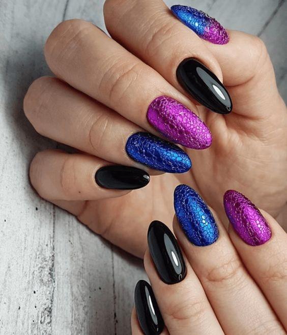 μοβ_και_μπλε_bubble nails_