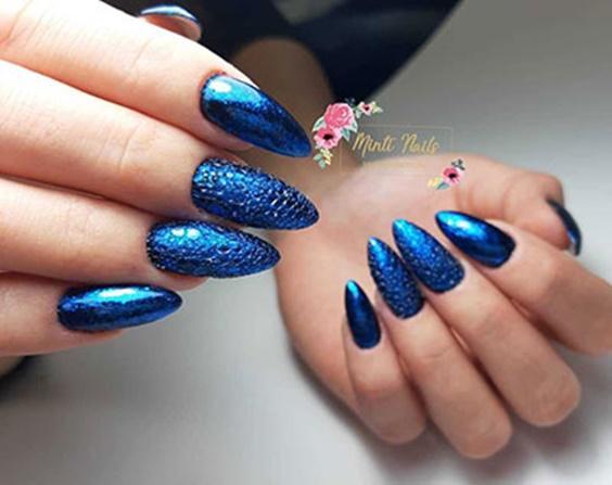 μπλε ηλεκτρίκ_bubble nails_