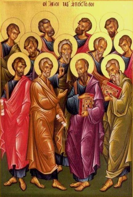Άγιοι Απόστολοι: Η προσευχή