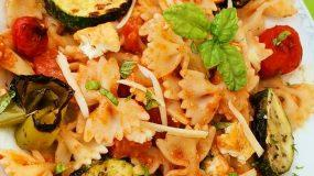 Φιογκάκια με λαχανικά _