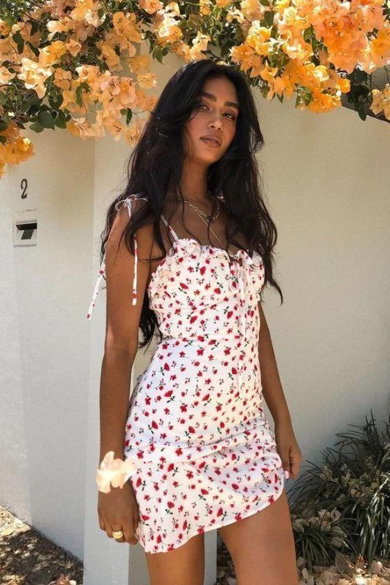 φλοράλ_καλοκαιρινό_φόρεμα_