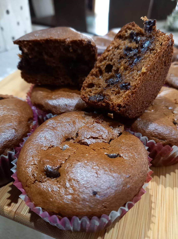Σοκολατένια _muffins_ χωρίς _ζάχαρη _ Για _παιδιά_