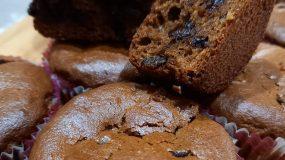Σοκολατένια muffins χωρίς ζάχαρη - Για παιδιά _