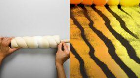 Δείτε βήμα -βήμα πως να κάνετε τεχνοτροπίες στους τοίχους_