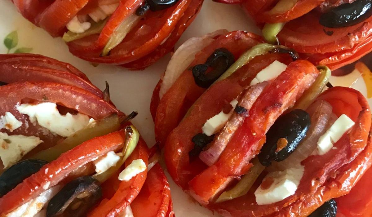 Ντομάτες -ακορντεόν-