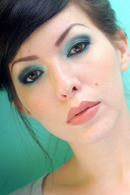 μπλε_smokey eye_