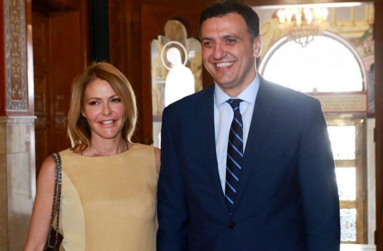 Eπιστολή στα ΜΜΕ από τον Βασίλη Κικίλια και τη Τζένη Μπαλατσινού για τη βάφτιση του γιου τους