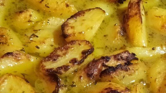 Πατάτες φούρνου_λεμονάτες_