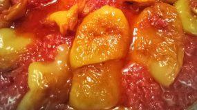 Τηγανιτές πιπεριές με ντομάτα_