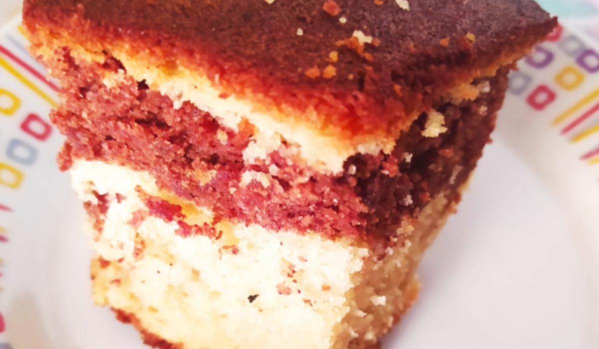 Κέικ βανίλια - κανέλα_