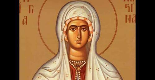 Αγία Χριστίνα  : 24 Ιουλίου η Εκκλησία μας τιμά τη μνήμη της Αγίας Μεγαλομάρτυρος Χριστίνης