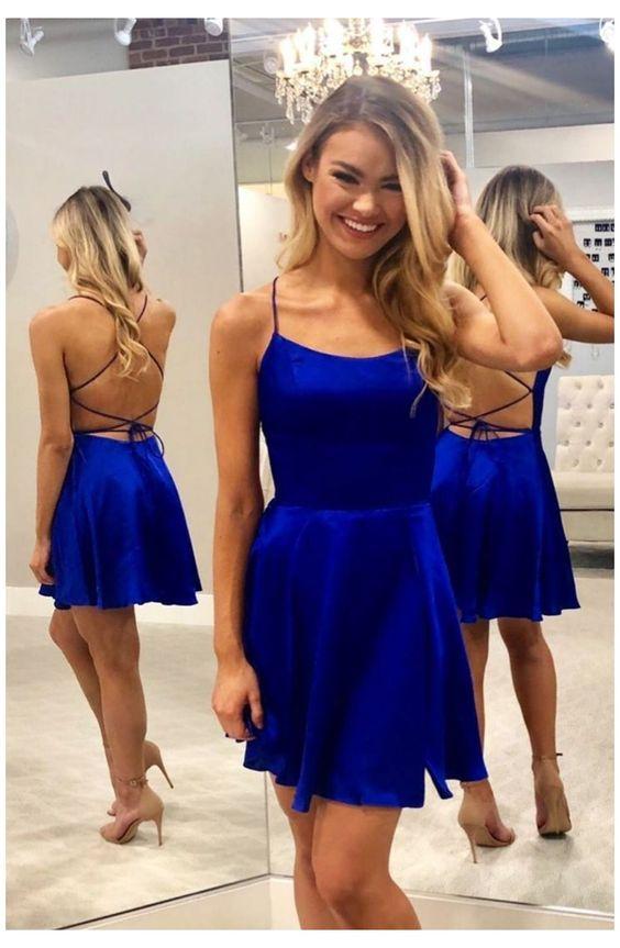 μπλε ηλεκτρίκ_μίνι_φόρεμα_