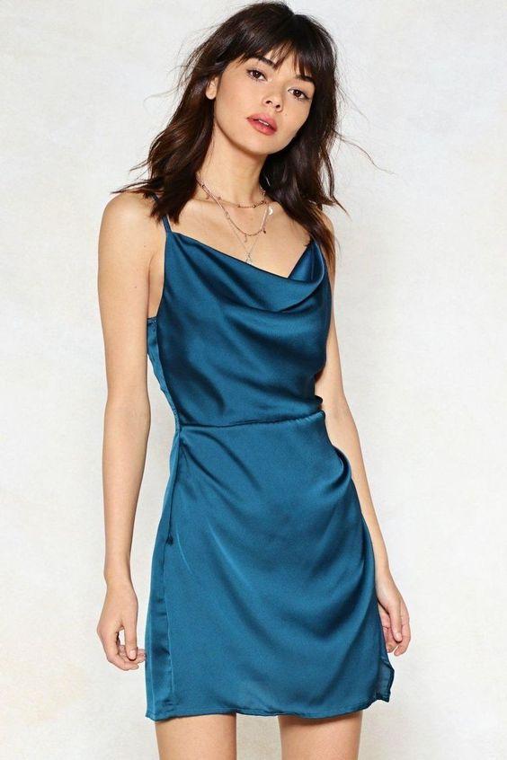 σατέν_μίνι_φόρεμα_