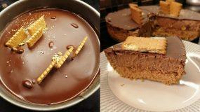 Choco cheesecake_