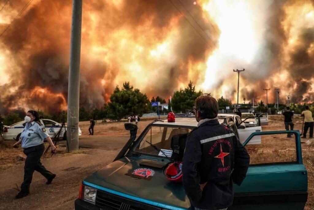 Νάνσυ Νικολαΐδου: Κάηκε ολοσχερώς το πατρικό της σπίτι στις Αφίδνες