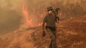 Φωτιά στην Εύβοια: Tο μόνο που γνωρίζoυν  είναι να μας στέλνουν γελοία μηνύματα  για να εκκενώσουμε τα χωριά