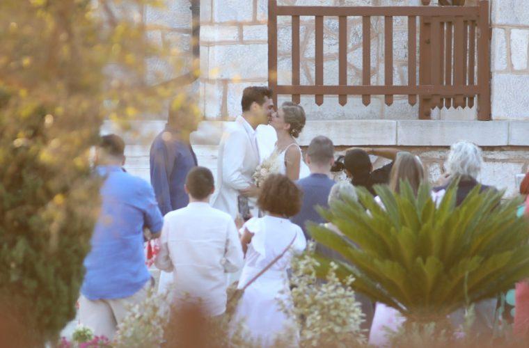 Παντρεύτηκαν Δανάη Μιχαλάκη-Γιώργος Παπαγεωργίου (εικόνες)