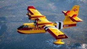 Θα έσωζαν την Εύβοια: Πόσο κοστίζουν τα παγκόσμιας κλάσης, Canadair CL-515, που επιχειρούν και το βράδυ