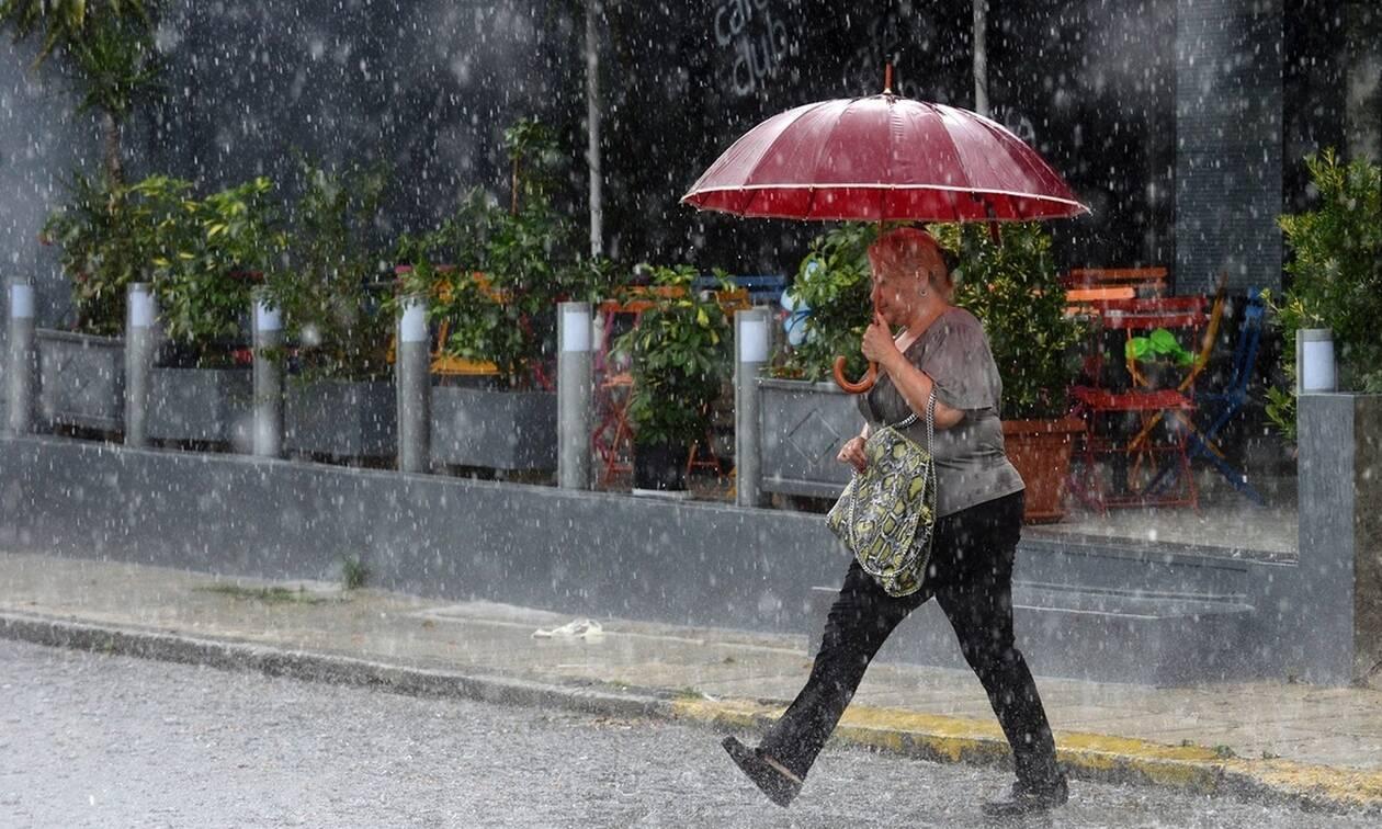 Καιρός Έρχονται βροχές και καταιγίδες – Δειτε που