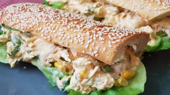 Κρύα- κοτοσαλάτα- για- σάντουιτς-
