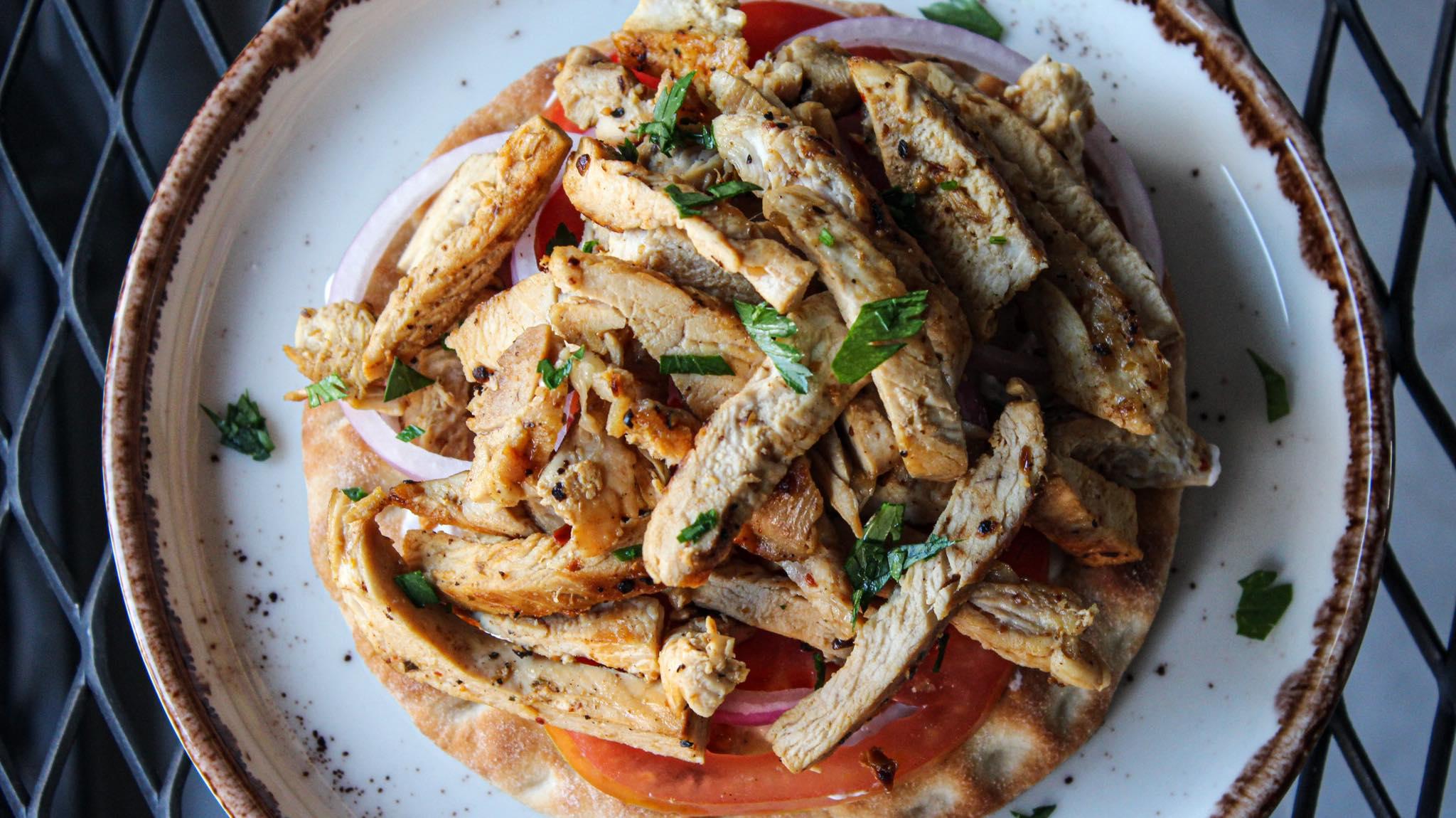 Γύρος- κοτόπουλο- σε- τηγάνι-Συνταγή-