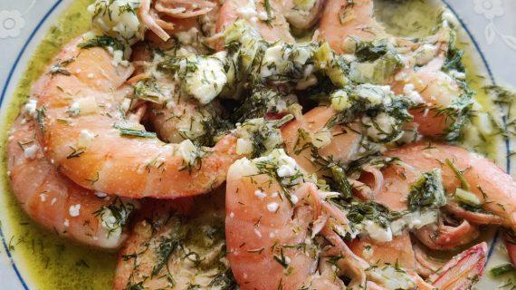 Γαρίδες- με -φέτα-: Λαχταριστή- συνταγή-