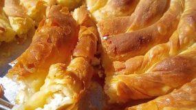 Στριφτή τυρόπιτα από την Τζένη Τσανακτσίδου