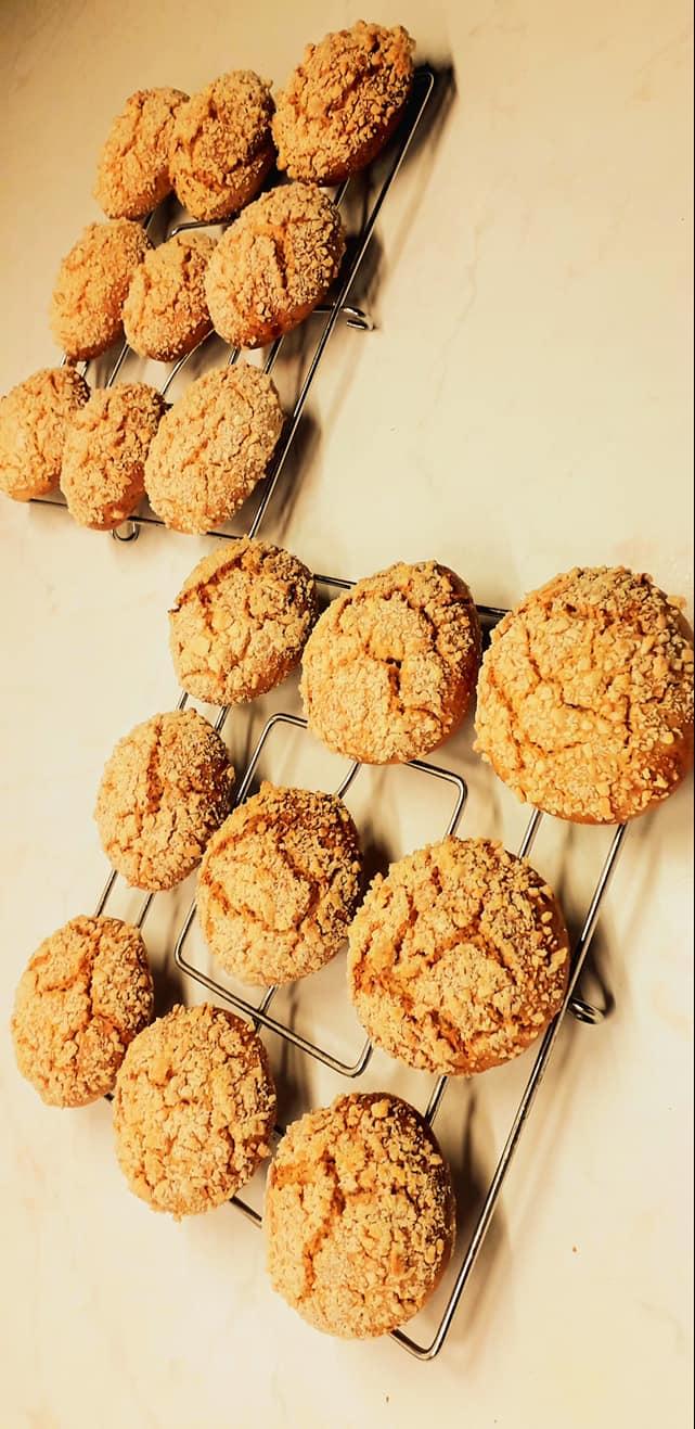 Cookies- αμυγδάλου-
